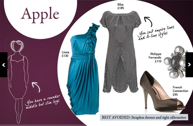 dress styles for apple shape body type, Go To www.likegossip.com to get more Gossip News!