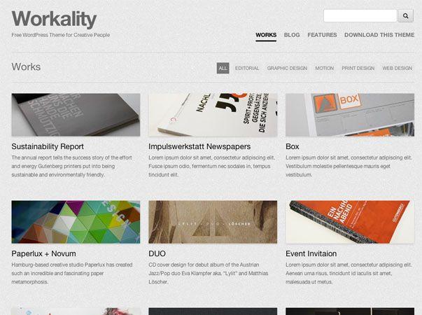 8 plantillas profesionales, elegantes y gratuitas para WordPress ...