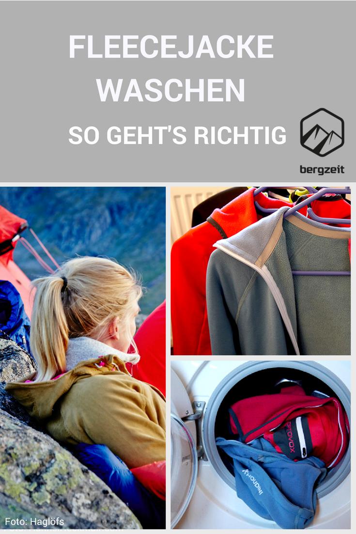 Fleecejacke waschen: So geht es richtig! | Fleecejacke