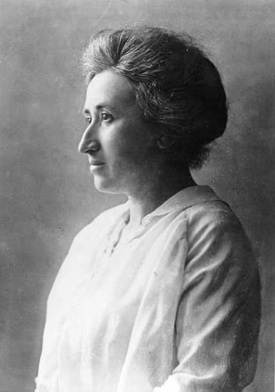 """Rosa Luxemburg  1886 was Luxembourg, active in the Polish Workers Party """"Proletariat"""". was one of the first organizations in Europe who organized a major strike.  Because of the strike were executed leader of the party and the party was officially dissolved. Some subgroups acted still in secret. Luxembourg joined one of these groups. In 1889, she was close to be discovered by the police, but managed to escape to Switzerland. In Switzerland, Luxembourg began to study at Zurich University"""