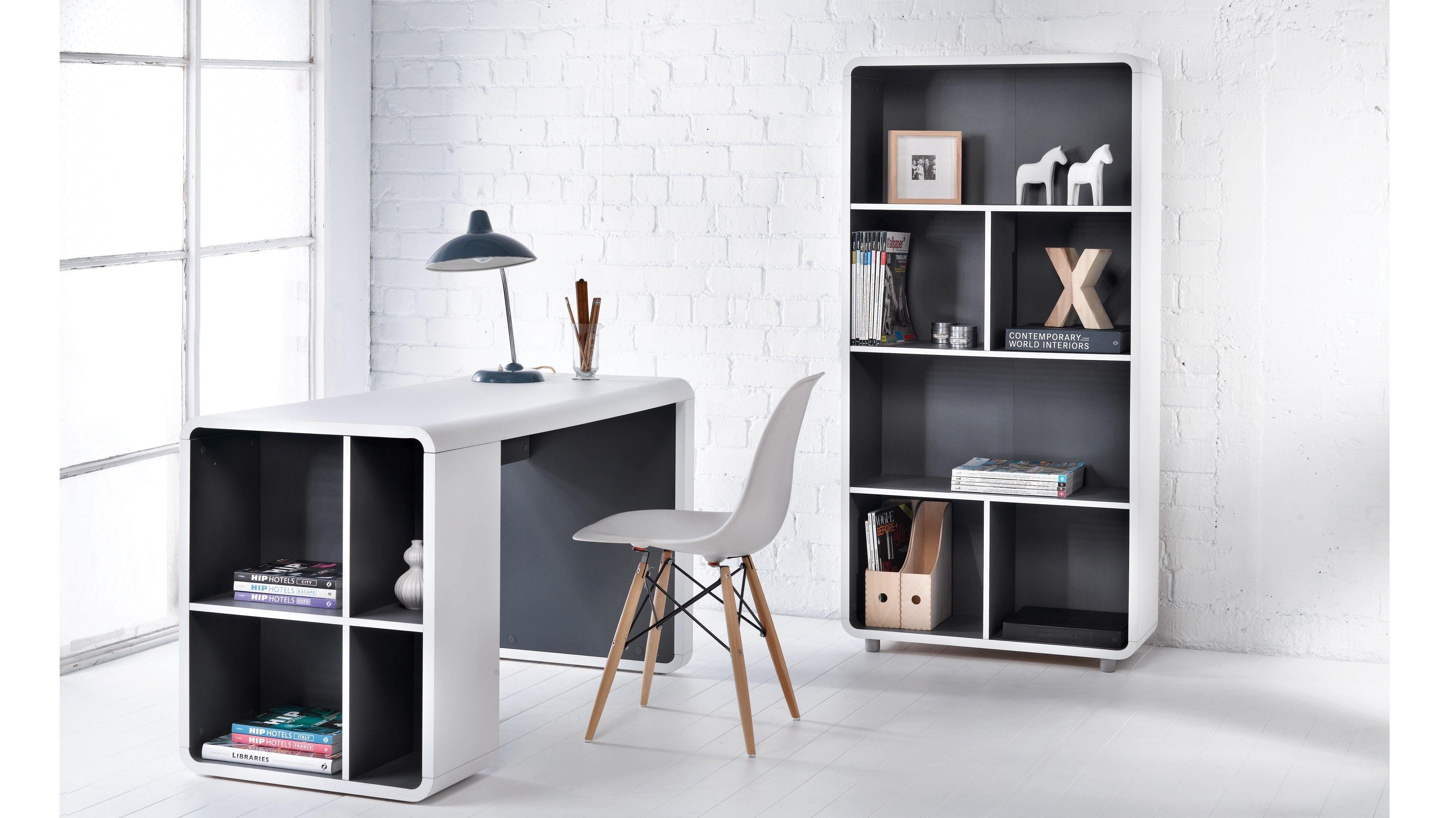 Orbit Bookshelf Desk Harvey Norman