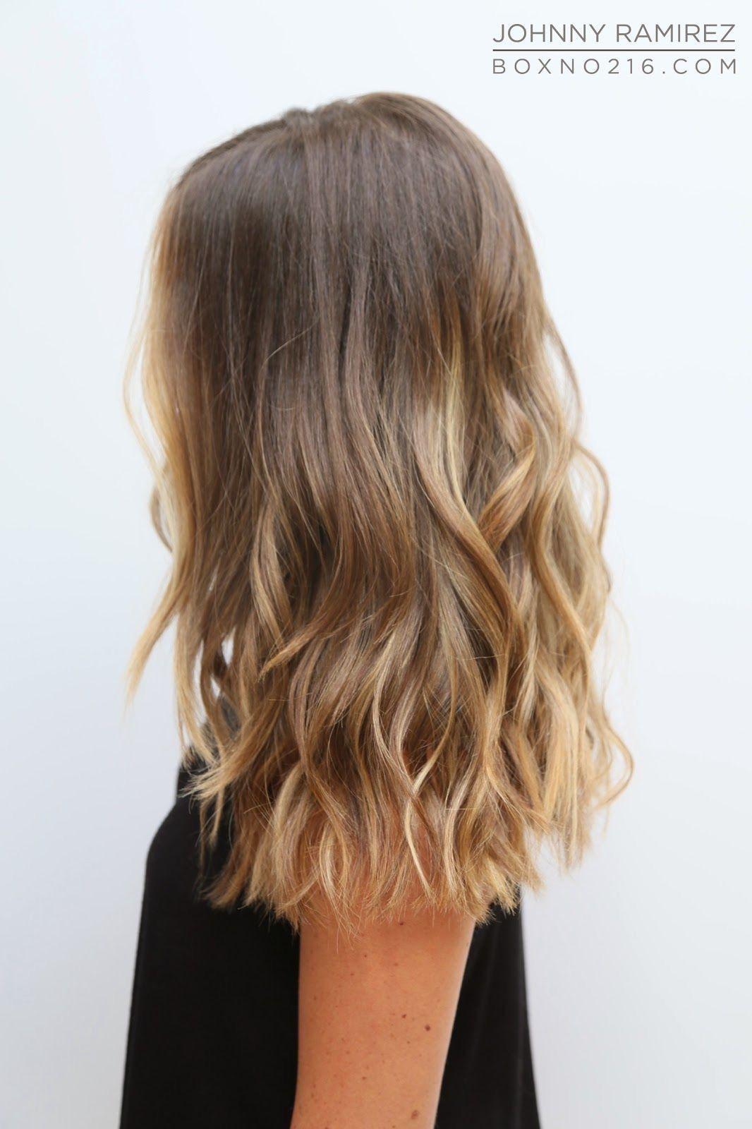 Balayage Hair Loose Curls Waves Hair Hairstyle Medium Hair Medium Hairstyle Hair Lengths Medium Hair Styles Long Hair Styles