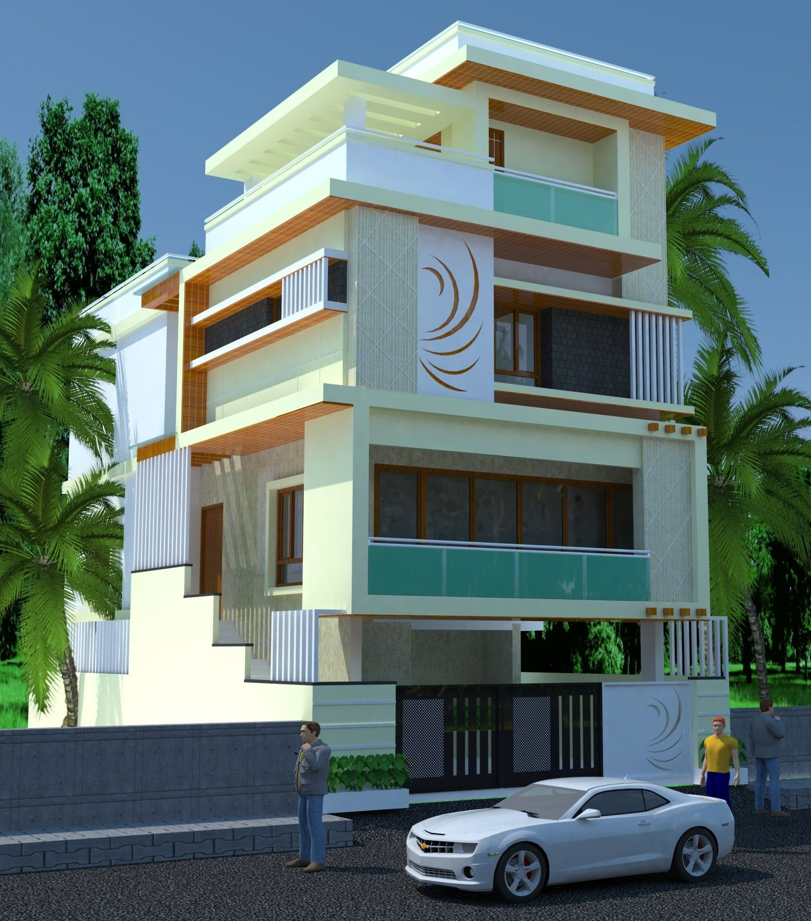 Exteriorhouse Wall Design: Exterior Design , House Styles, Design