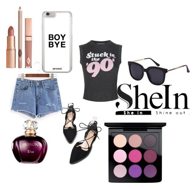 """""""Shein"""" by finn-iii ❤ liked on Polyvore featuring Wildfox, MAC Cosmetics and Dolce Vita"""