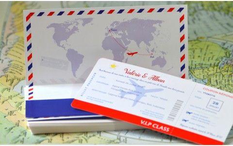faire part mariage billet avion airlines fair part pinterest mariage voyage et destinations - Faire Part Mariage Billet D Avion
