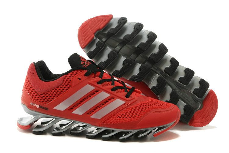 Adidas Springblade Drive Shoes Red Silver Black  6d28fc4531