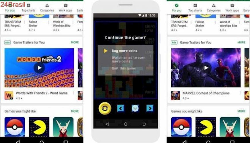 Google Esta Testando Anuncios Em Video Na Play Store Google Play