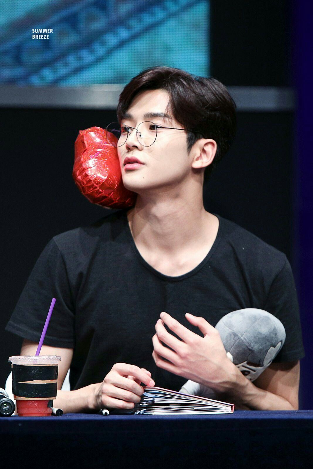 Rowoon With Glasses Cinta