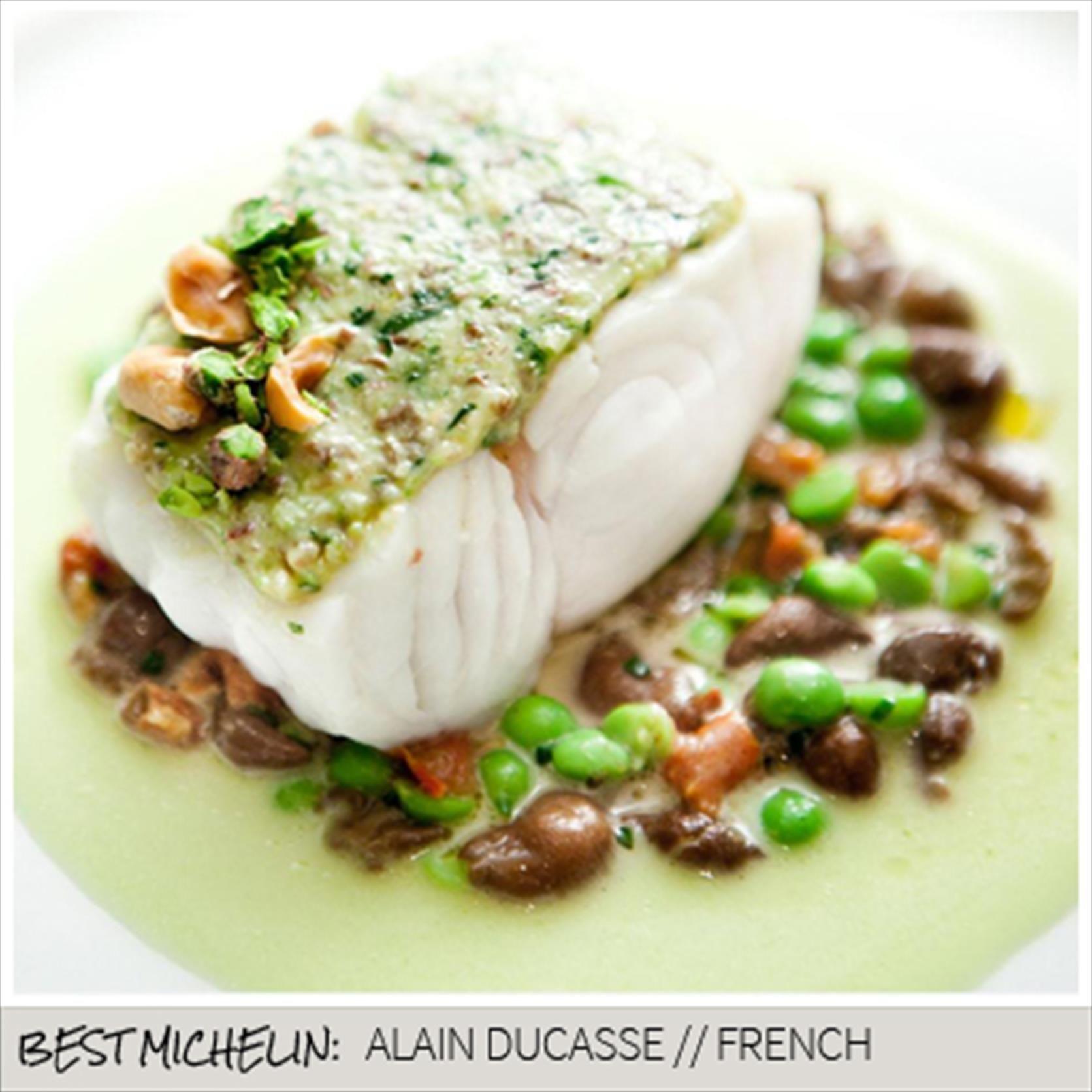 Best Michelin Alain Ducasse The Dorchesterbeautiful Fishplate Presentationfood