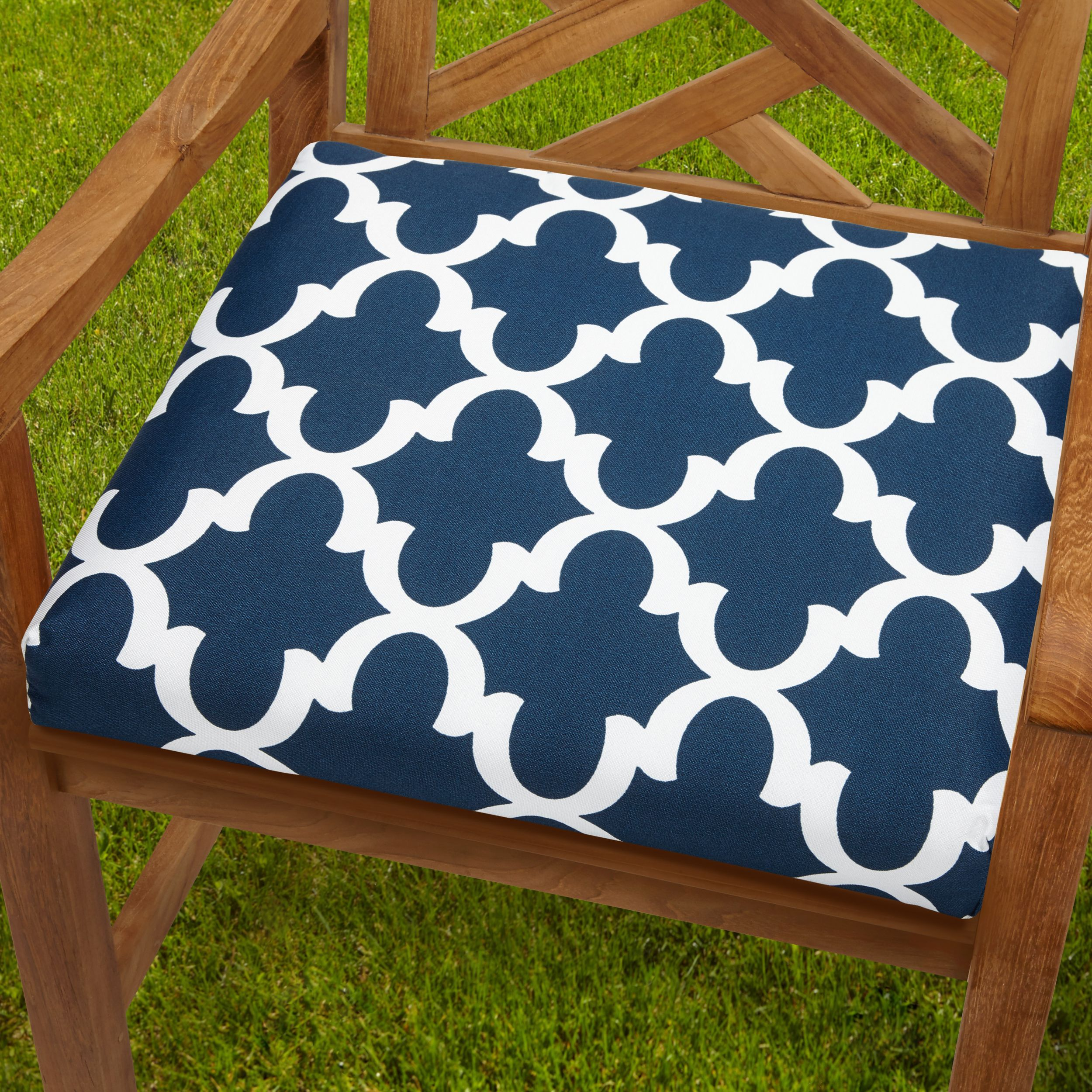 This Chair Cushion Adds Color Comfort And Simple Style To Your