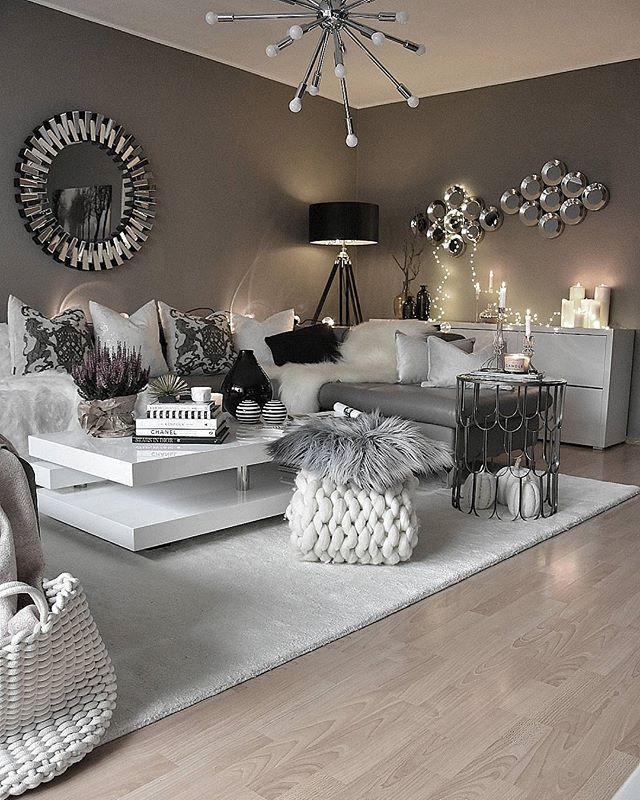 Cozy Gray Living Room: #cozy By @zeynepshome Via @charming___fashion