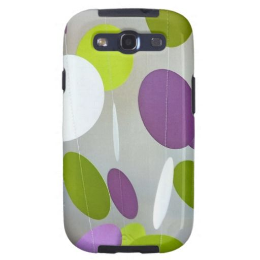 Hot Green Purple Lime Green Paint Splatters Splotc Galaxy S3 Cover ShoppingHere a great deal...