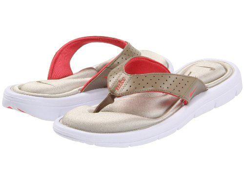 37d350ace Women s Nike Comfort Thong - Khaki Fruit Punch