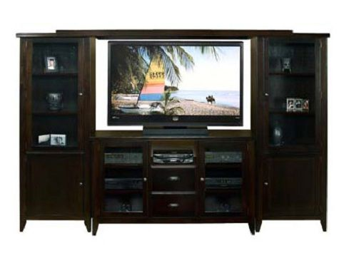 The Metropolitan Entertainment Center From AA Laun Furniture Is An  Affordable Solution For Your Lower Level