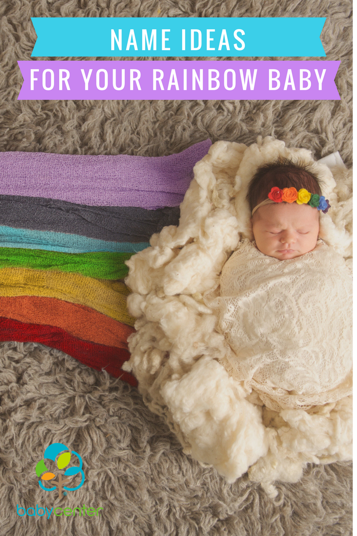 19 beautiful baby name ideas for your rainbow baby