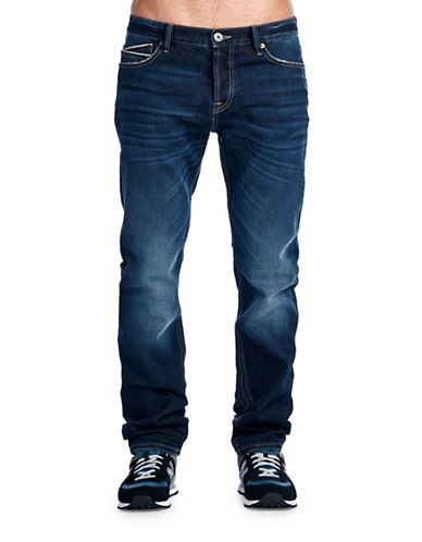 Cult Of Individuality Mccoy Loose Fit Jeans Men's Blue 29X34
