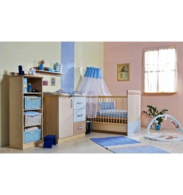 Chambre à coucher bébé complète LIZI Chambre à coucher