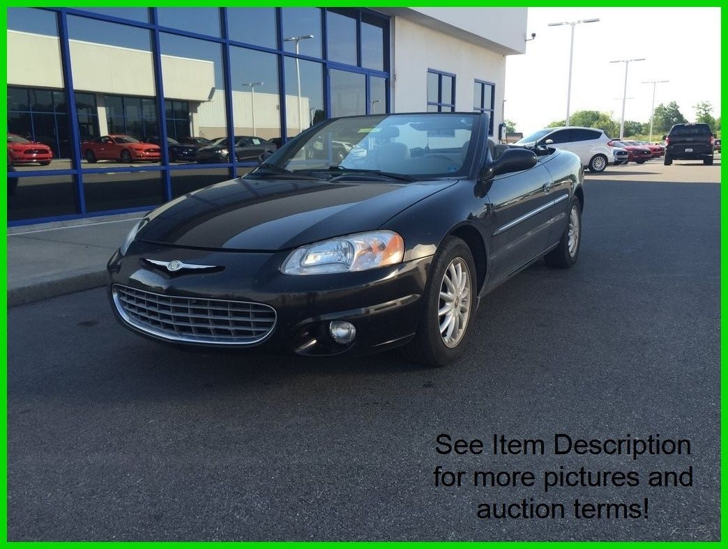 car brand auctioned chrysler sebring lxi used 02 chrysler sebring lxi 2 7l v6 auto fwd convertible low m check more at htt chrysler sebring car brands chrysler pinterest