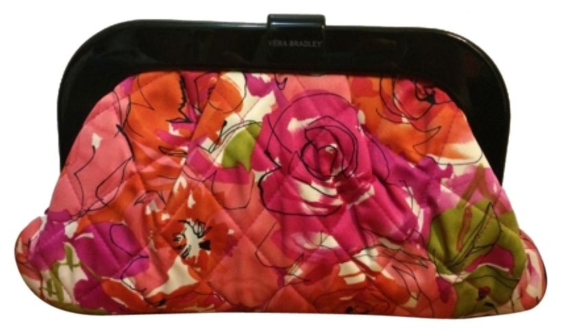 6651a18be99d Vera Bradley Floral Clutch 45% off retail