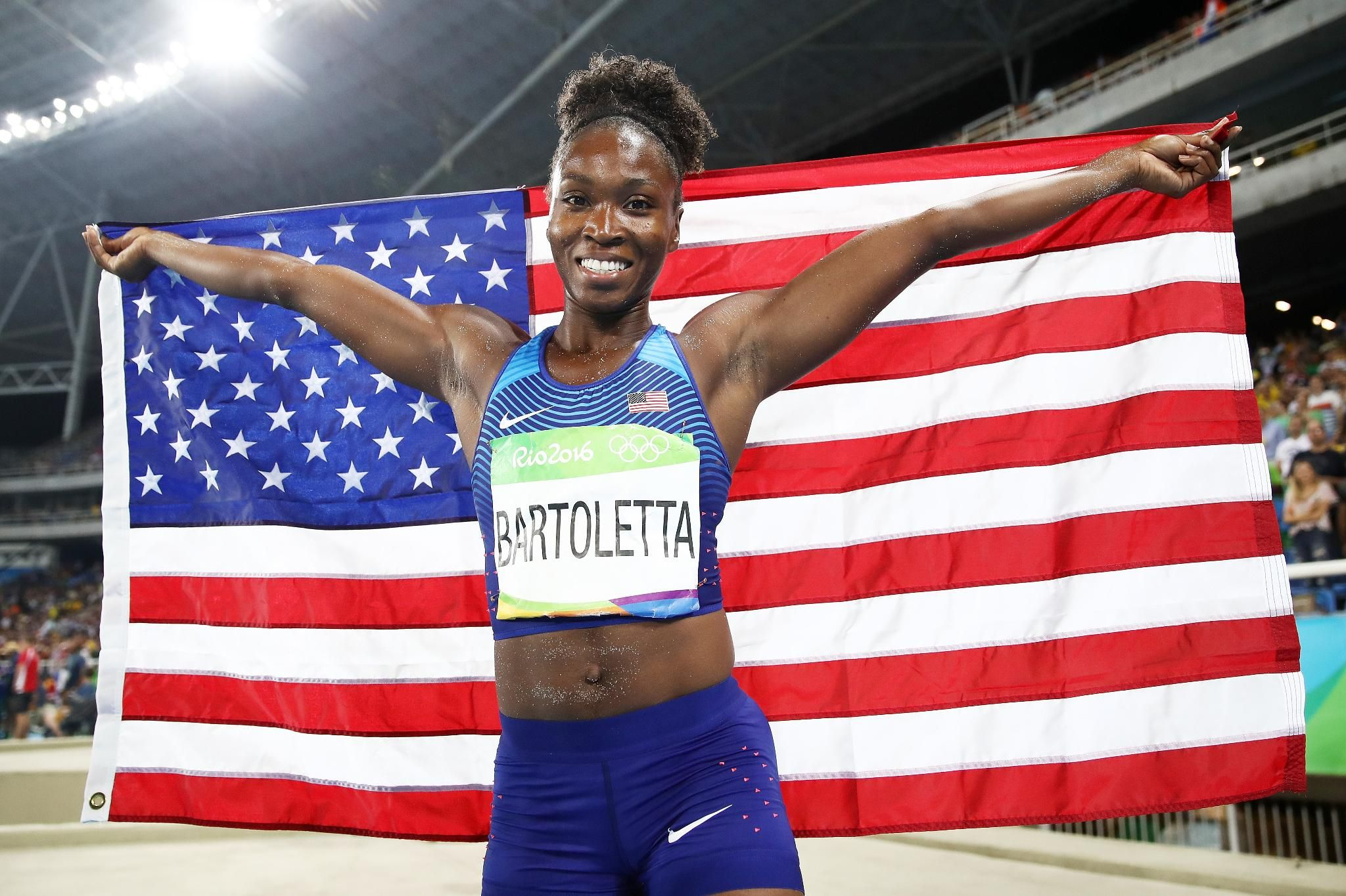 #Gold Tianna Bartoletta #USA > Womens Long Jump #Athletics #Rio2016  https://t.co/d4G4BClUwz