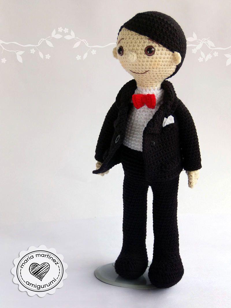 Novios Crochet Patron Gratis Maria Martinez Amigurumi | muñecas ...