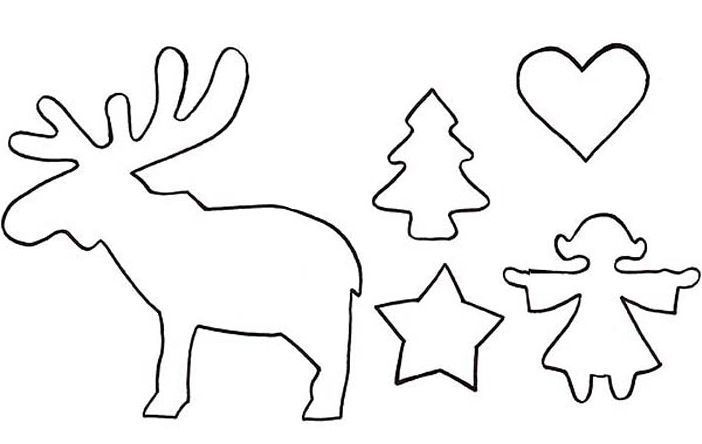 schablonen skandinavische weihnachten 583 malvorlagen