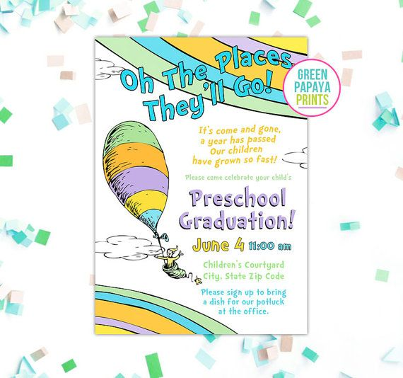 Il 570xn Pre K Graduation Kindergarten Ideas Eighth Grade Invitations