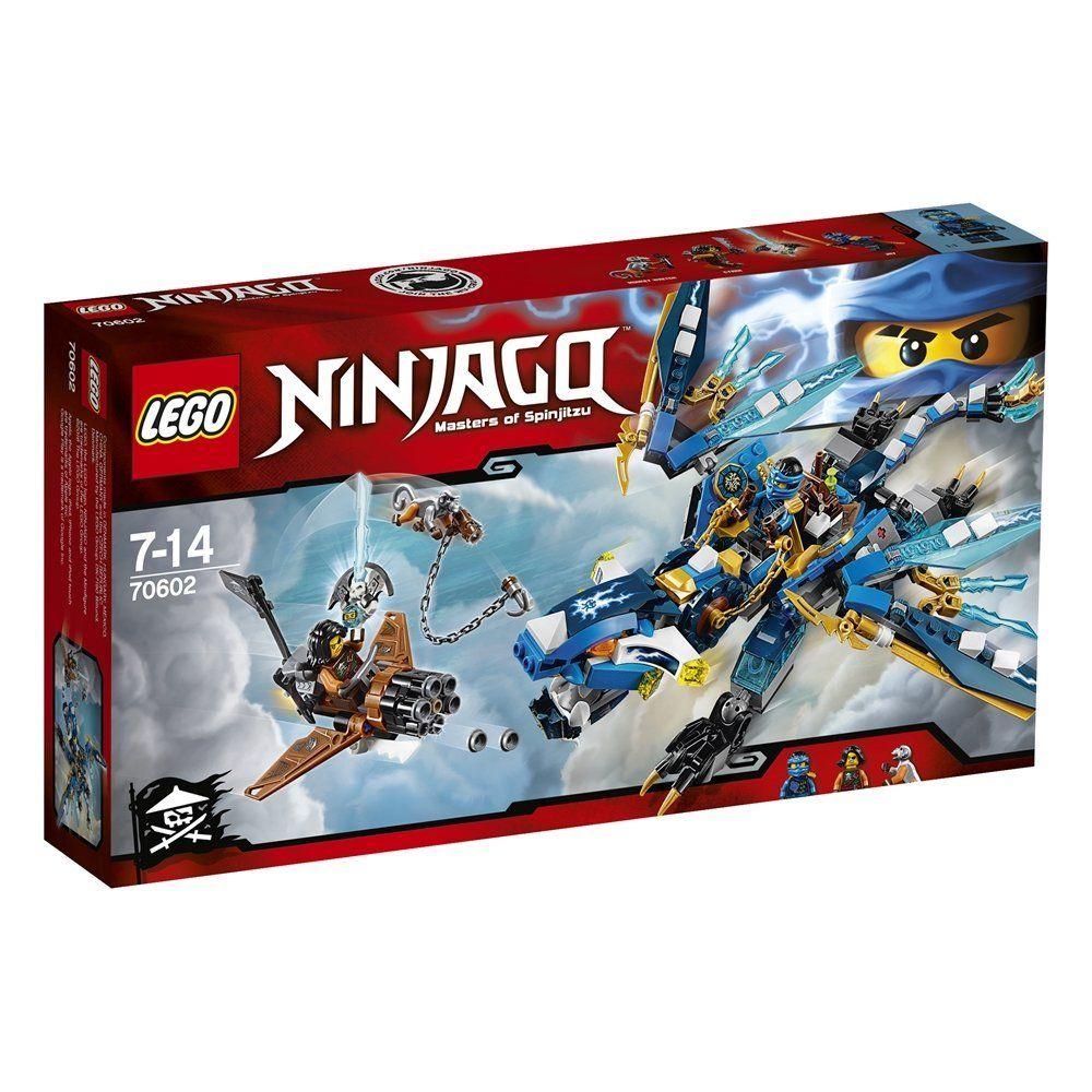 LEGO Ninjago 70602 - Jays Elementardrache: Amazon.de: Spielzeug