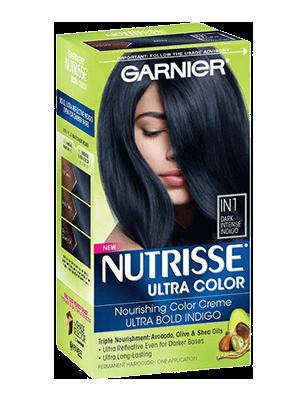 Hair Color Nutrisse Ultra Color Dark Intense Indigo In1 Hair
