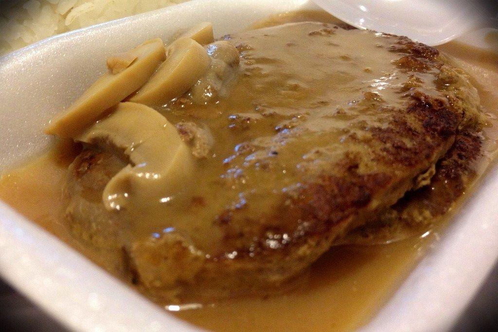 Delicious Burger Steak Ala Jollibee Style Recipe Panlasang Pinoy Recipes Recipe Delicious Burgers Panlasang Pinoy Recipe Food