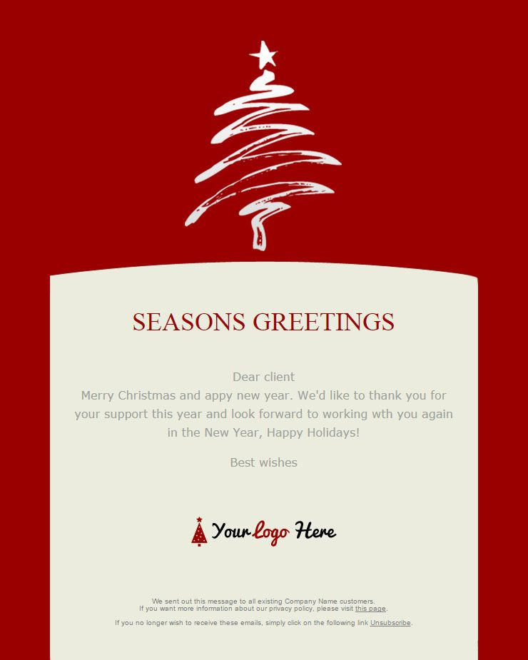 Christmas Email Template Google Search Festival Email