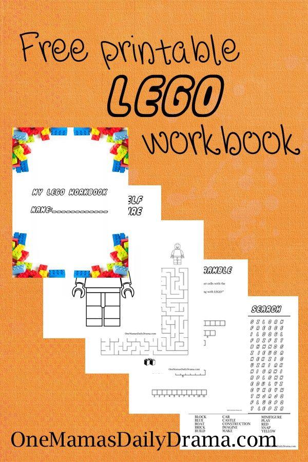 free printable lego workbook one mamas daily drama this fun kids activity - Kids Fun Pages