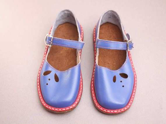 fd643b373b10a 165mm Soviet children sandals made in ussr 70s – red blue toddler ...