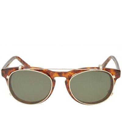 e53764916c8d Han Timeless Clip-On Sunglasses (Amber)