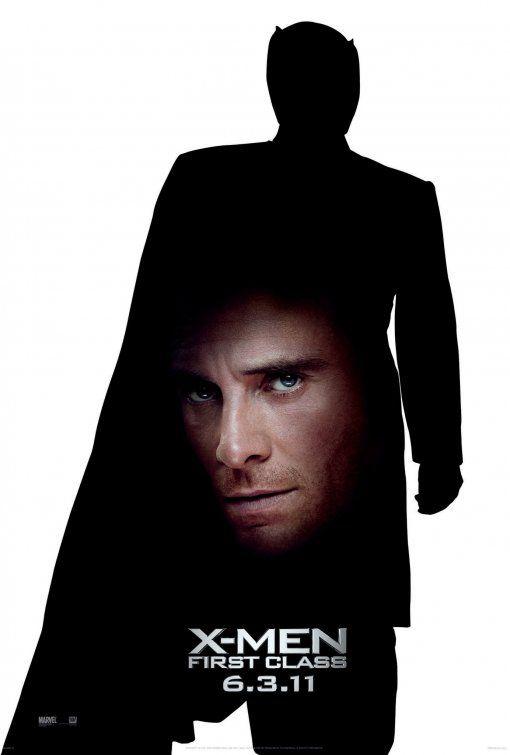 X-Men: First Class Movie Poster #4   X men. Movie posters. Michael fassbender
