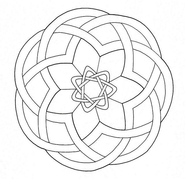 Celtic Design 046 | Mandalas, Celta y Dibujo