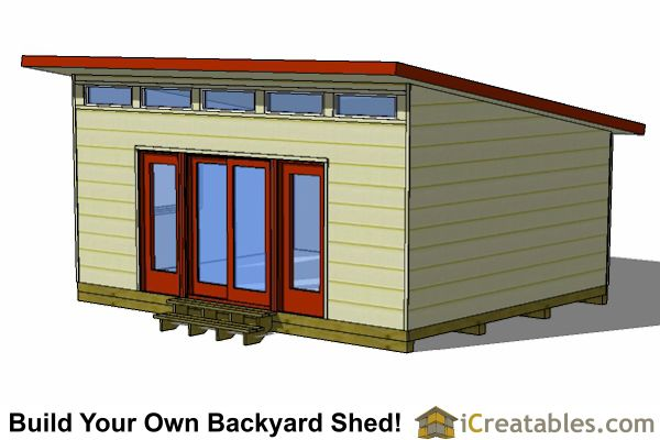 16x20 Lean To Shed Tall Wall Door View Proyecto Casita