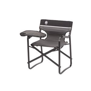 Relax Anywhere With The Coleman Portable Deck Chair With Swivel Table Set Your Plate On The Convenient Tray With Images Deck Chairs Outdoor Folding Chairs Camping Chairs