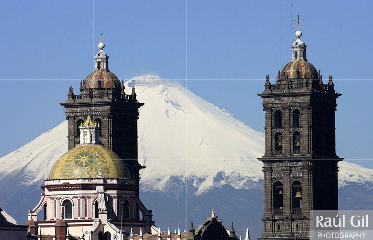 Catedral de Puebla. Mex.