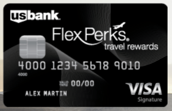 Us Bank Credit Card U.S. Bank Flex Perks Visa Signature