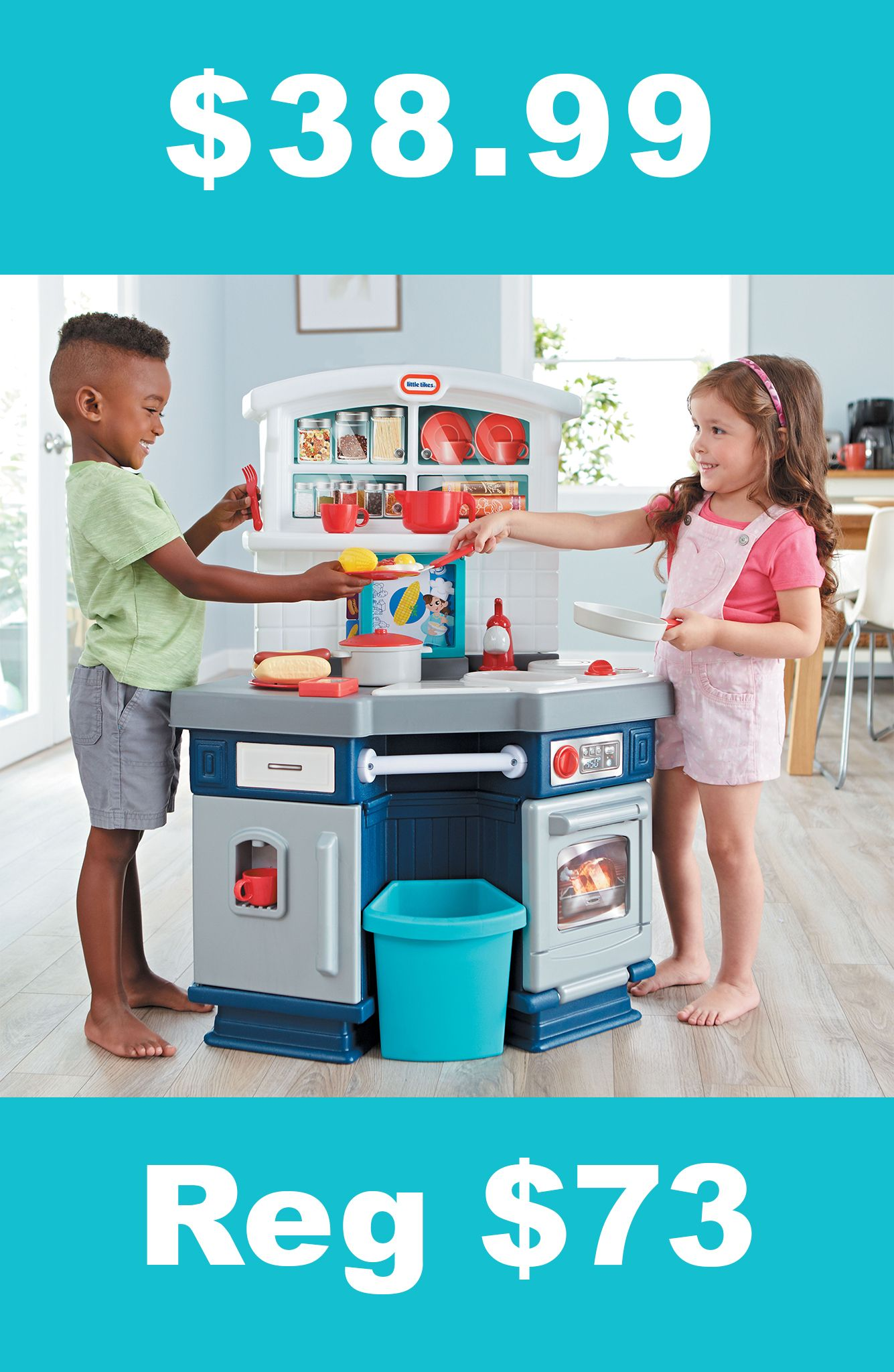 Little Tikes Cook With Me Kitchen Just $38.99 Shipped! (Reg $73)