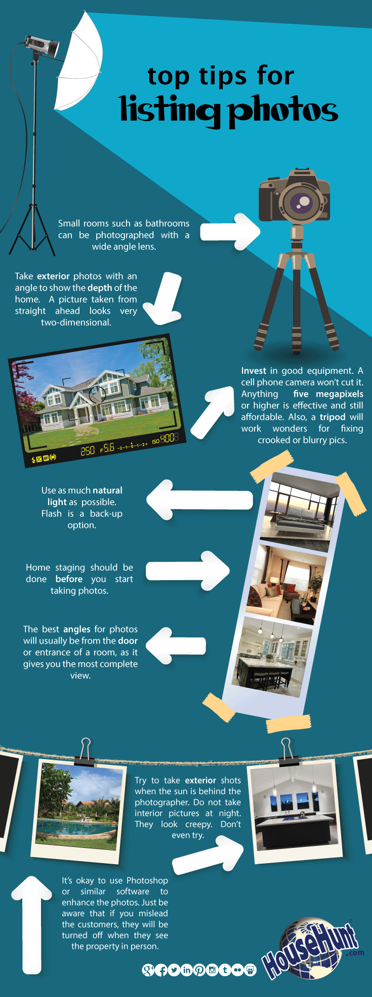 Top 8 Tips for Listing Photos [Infographic Real estate