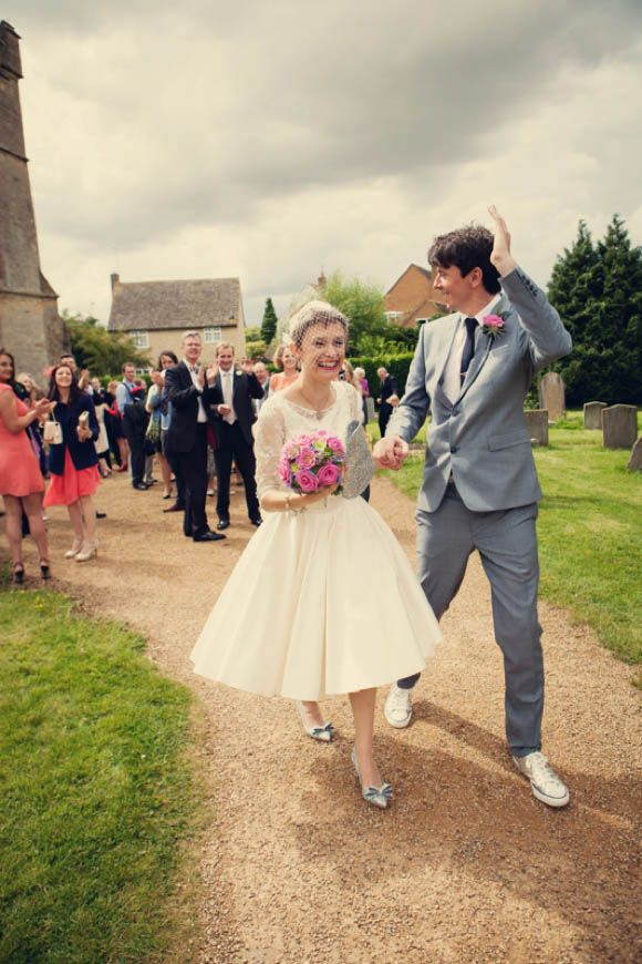 A Fun And Colourful Fifties Inspired Wedding Day Celebration