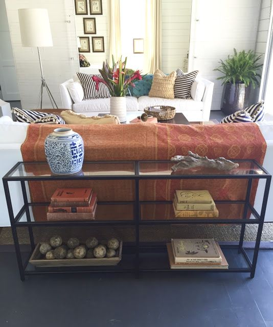 Before And After Part 2 Sofa End Tables Family Room Home Decor