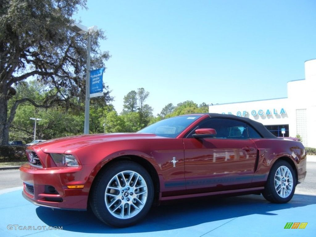 2014 ruby red ford mustang v6 premium convertible 78996355 2014 ruby red ford mustang v6 premium convertible 78996355 gtcarlot sciox Images