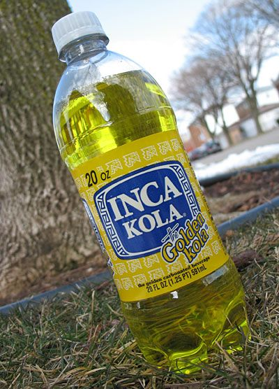 Inca Kola My Favorite Food Inca Beverages