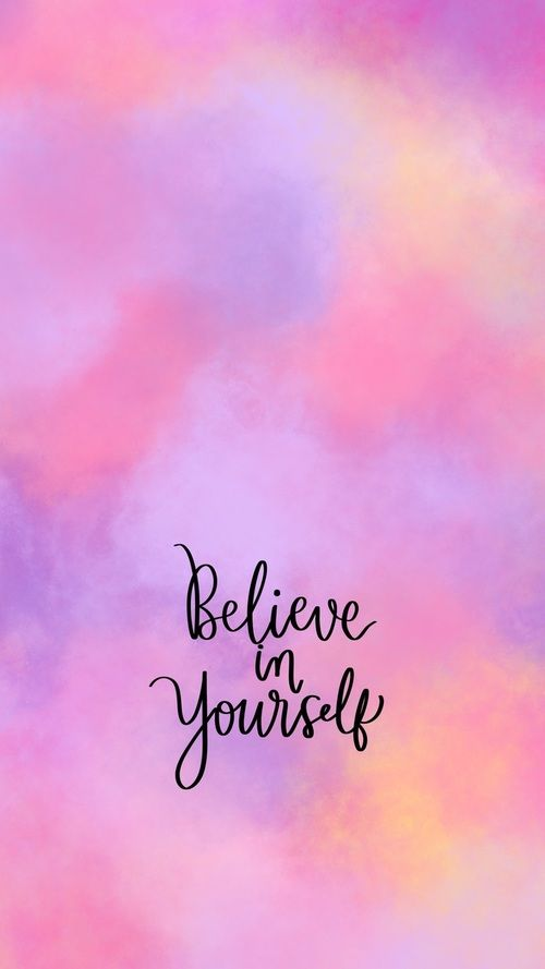 Gambar Calligraphy Purple And Cotton Candy Wallpaper Quotes Inspirational Quotes Wallpapers Positive Wallpapers