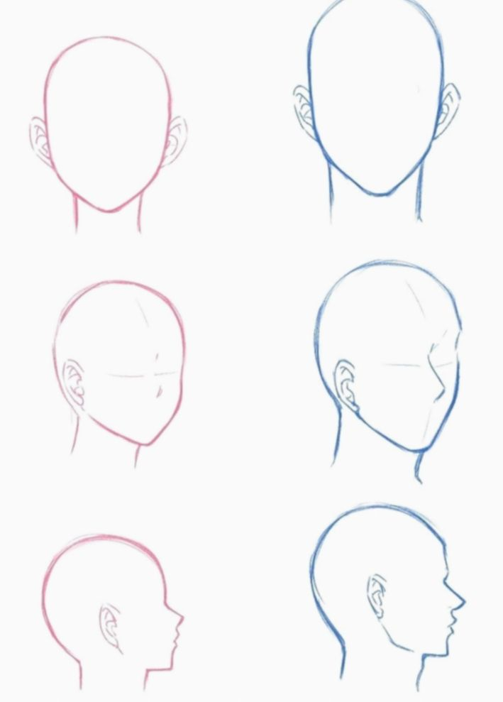 10 Anime Face Base Male Manga Drawing Tutorials Drawing Tutorial Face Anime Drawings Sketches