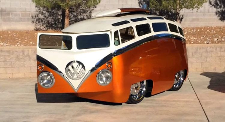 They Don T Get More Cartoonish Thantthis Highly Customized Vw Bus W