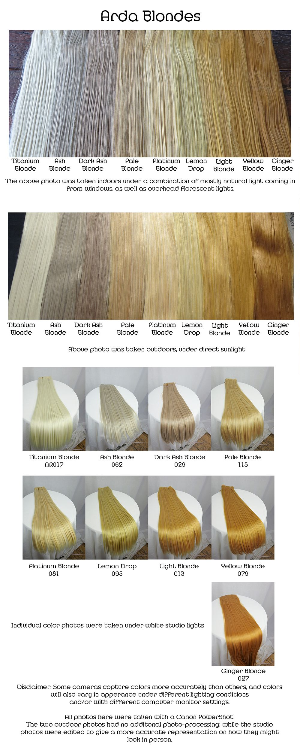 Arda Wigs Blondes Comparison With Images Blonde Hair Black